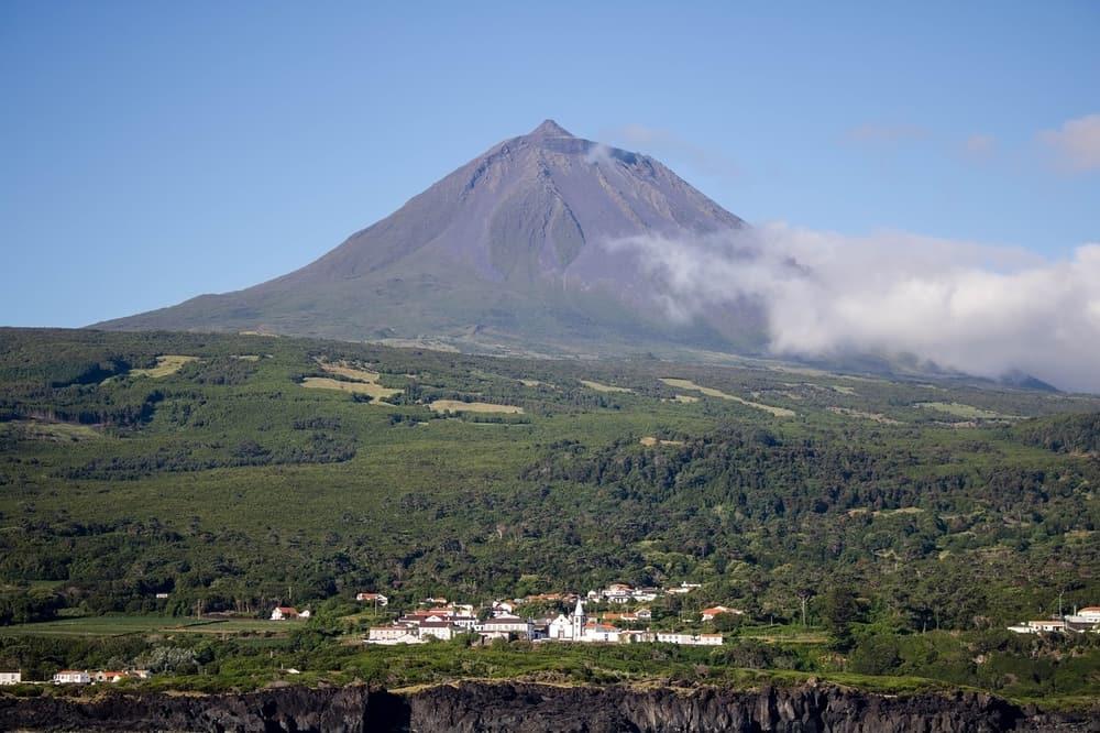Mount Pico on Pico Island