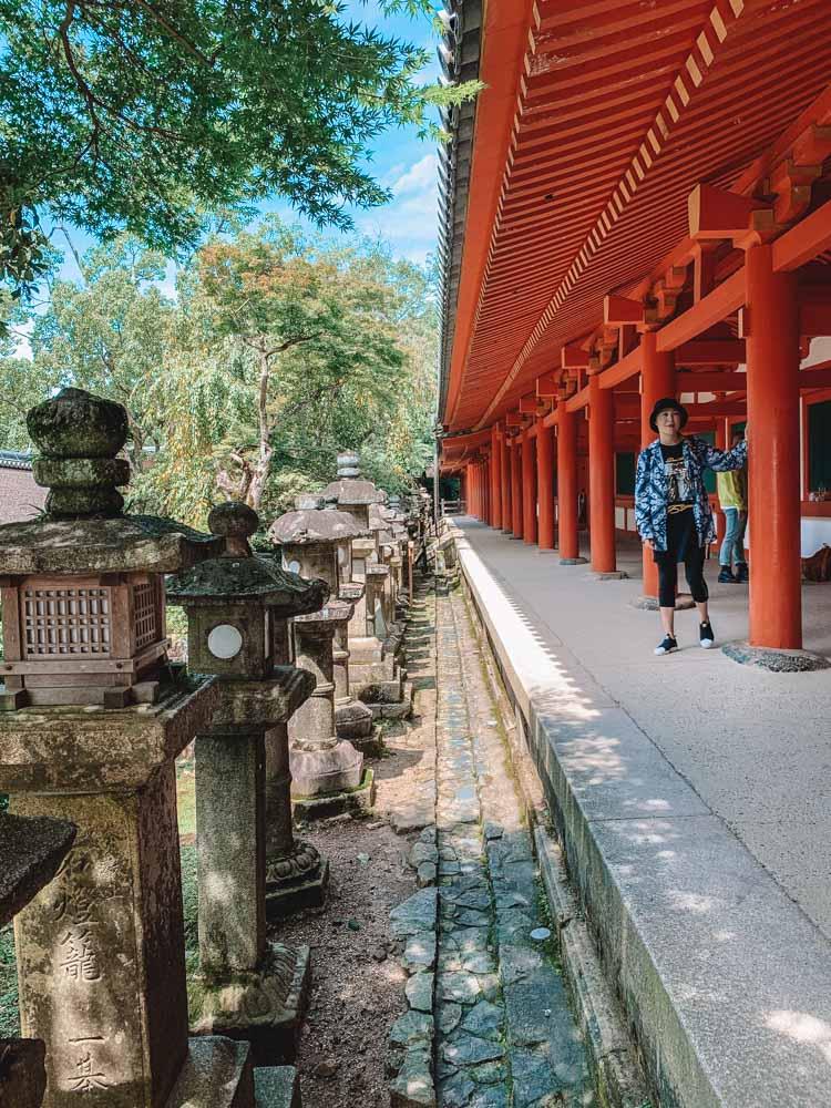 Exploring Kasuga-Taisha Temple in Nara, Japan