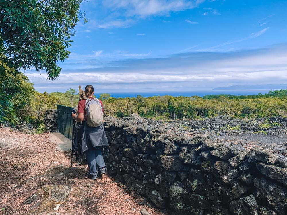 Hiking the Caminos de Santa Luzia on Pico Island