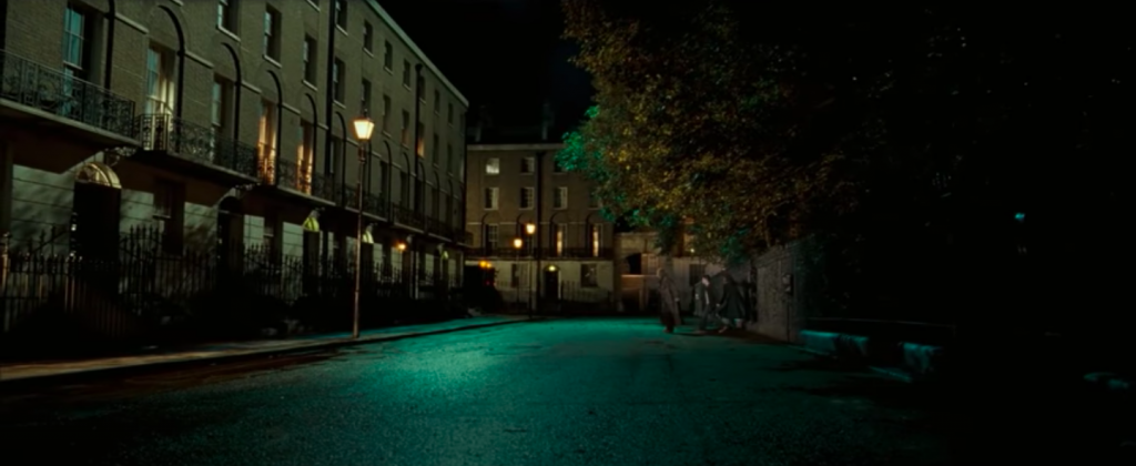 Harry Potter goes to 12 Grimmauld Place for the first time in Harry Potter and the Order of the Phoenix