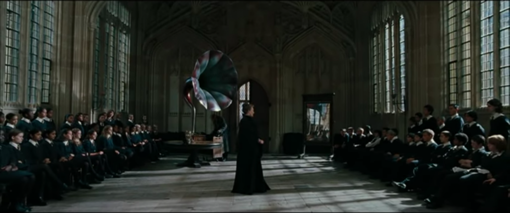 McGonagall teaches the children to dance in Harry Potter and the Goblet of Fire