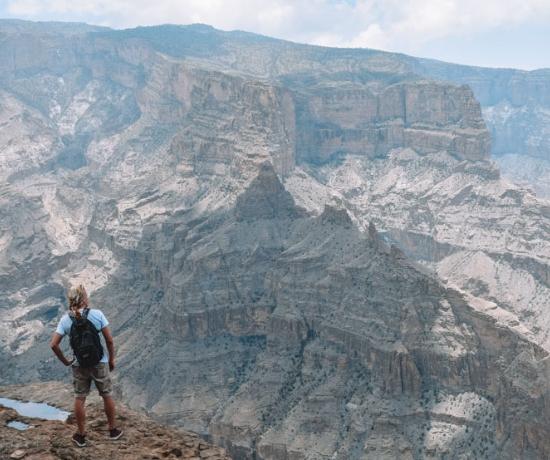 Jebel Shams Balcony Walk