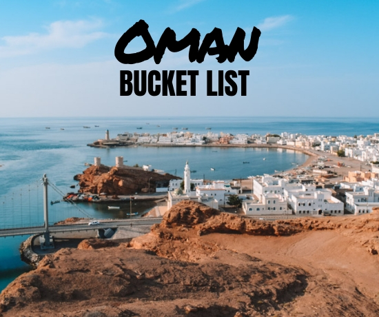 20 best places to visit in Oman