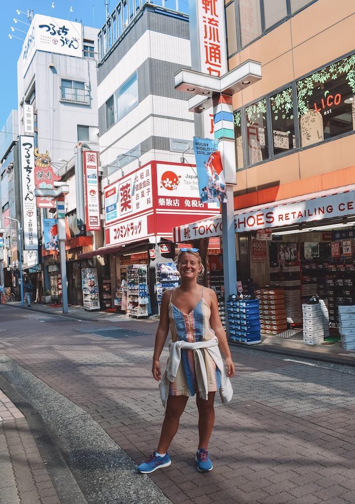 Exploring Ameyoko in Tokyo