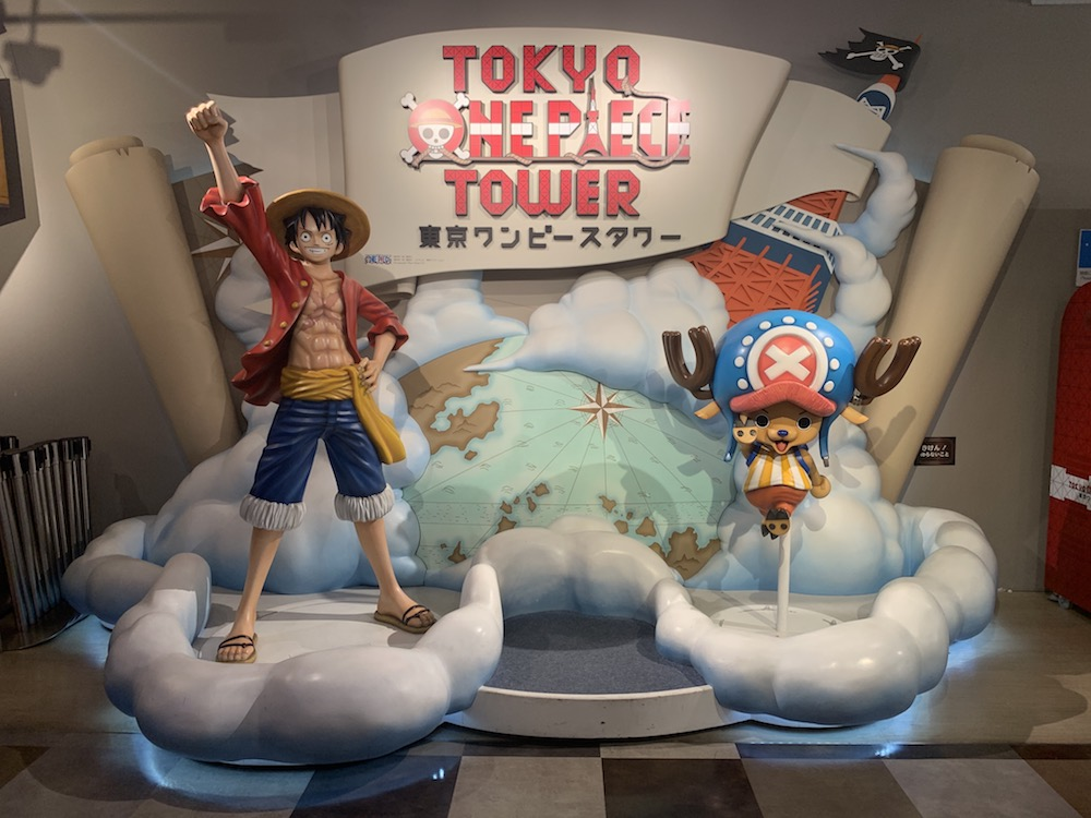 One Piece Tower in Tokyo