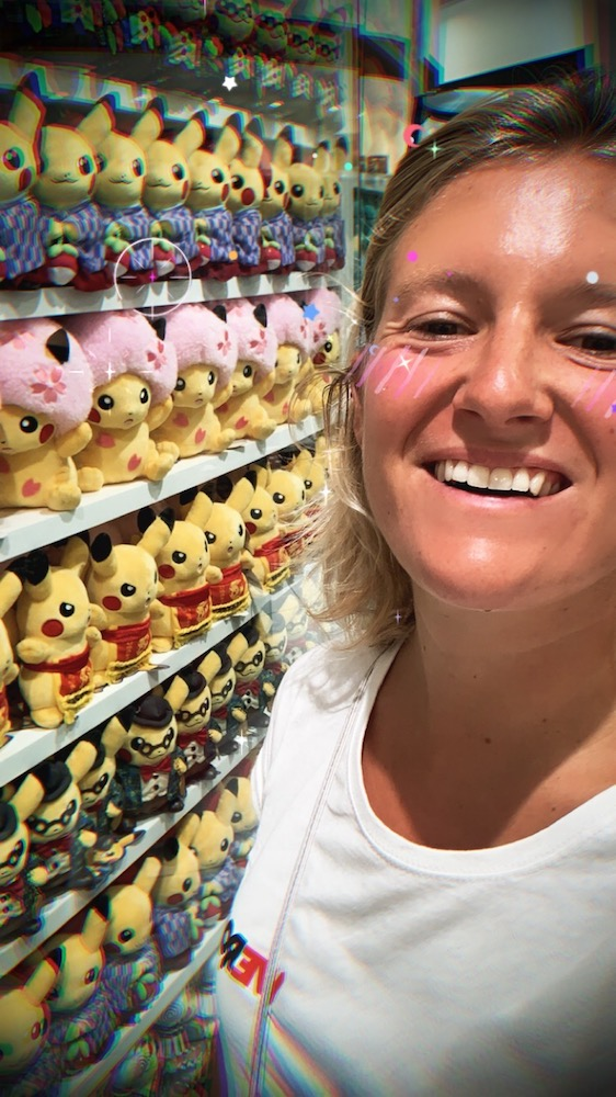 Loving my time at the Pokemon Centre next to the Pokemon Cafe in Tokyo