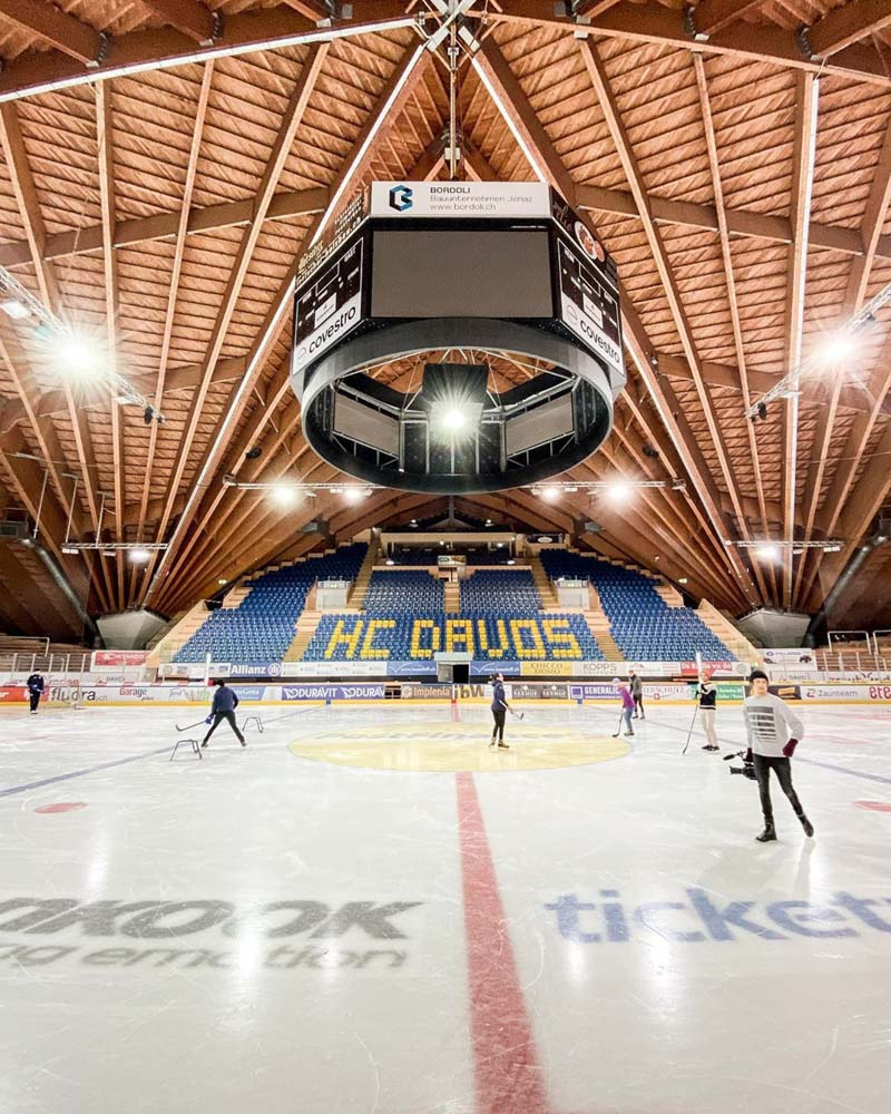 The Davos Hockey Club, photo by Best of the Alps