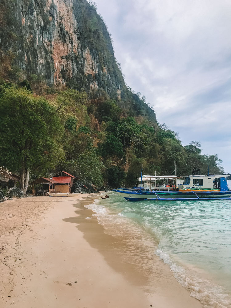 Atwayan Beach, where we stopped for lunch during our Coron Ultimate tour