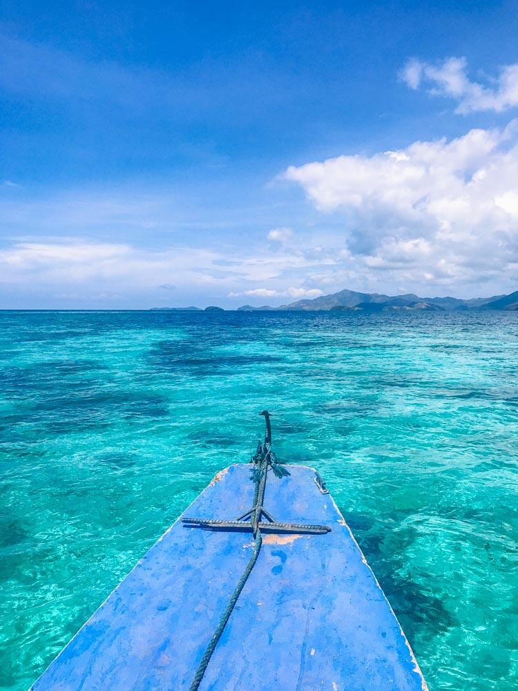Cruising during our Coron Island Escape Tour (Tour C)