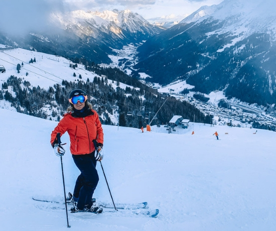 Skiing in Europe in December