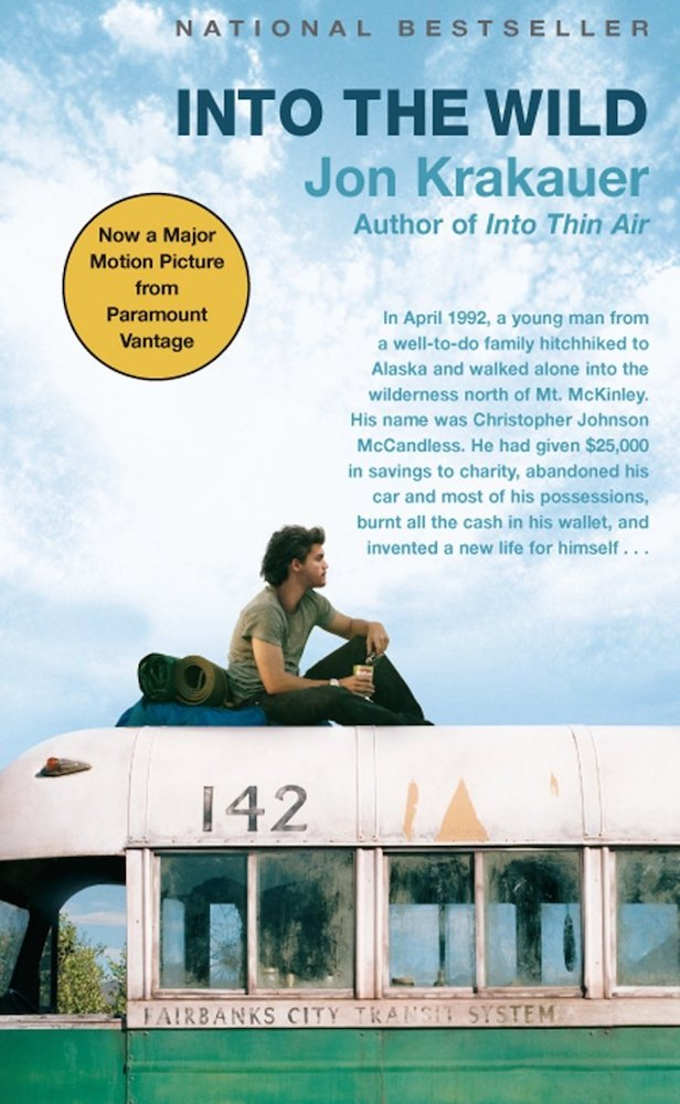 """Front cover of the book """"Into the Wild"""""""