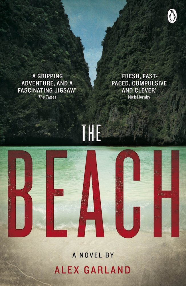 """Book cover of """"The Beach"""" by Alex Garland"""