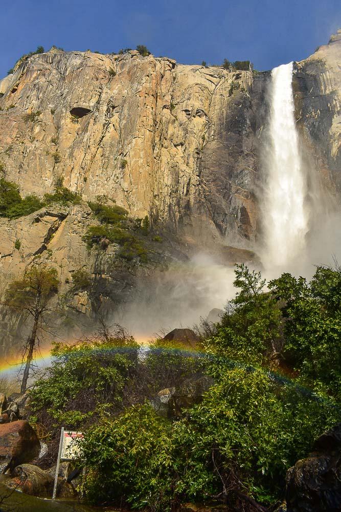 Bridal Veil Falls in Yosemite National Park, photo by Bartender Abroad