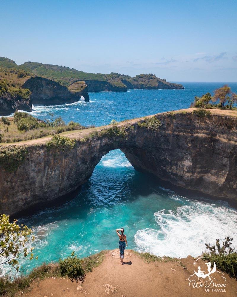 Broken Beach in Nusa Penida - photo by Sophie of We Dream Of Travel