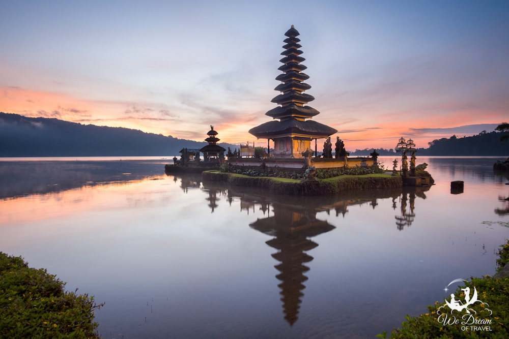 Pura Ulun Danu Beratan Temple in Bali - photo by Sophie of We Dream Of Travel