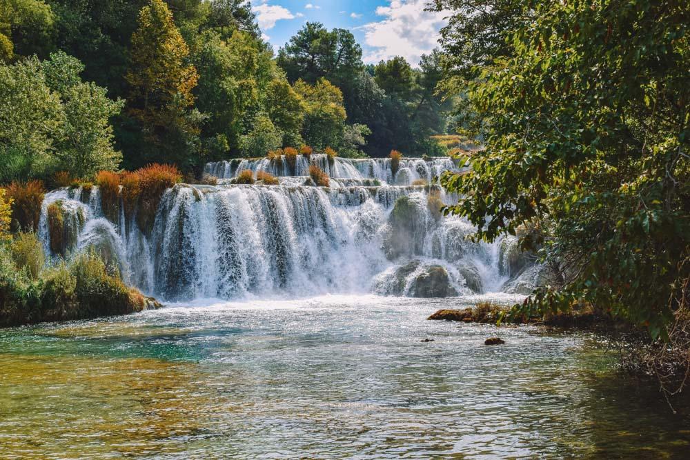 Skradinski Buk Falls in Krka National Park