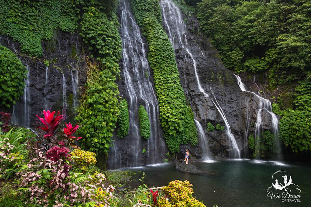 Munduk Waterfall in Bali - photo by Sophie of We Dream Of Travel