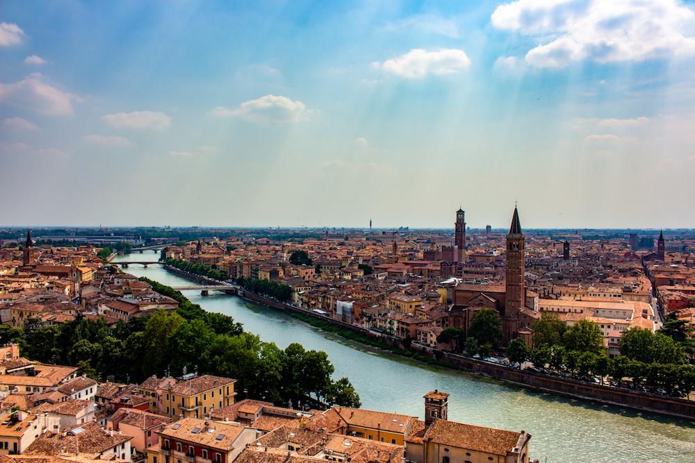 Beautiful views over Verona - Photo by Antonino Noto on Scopio