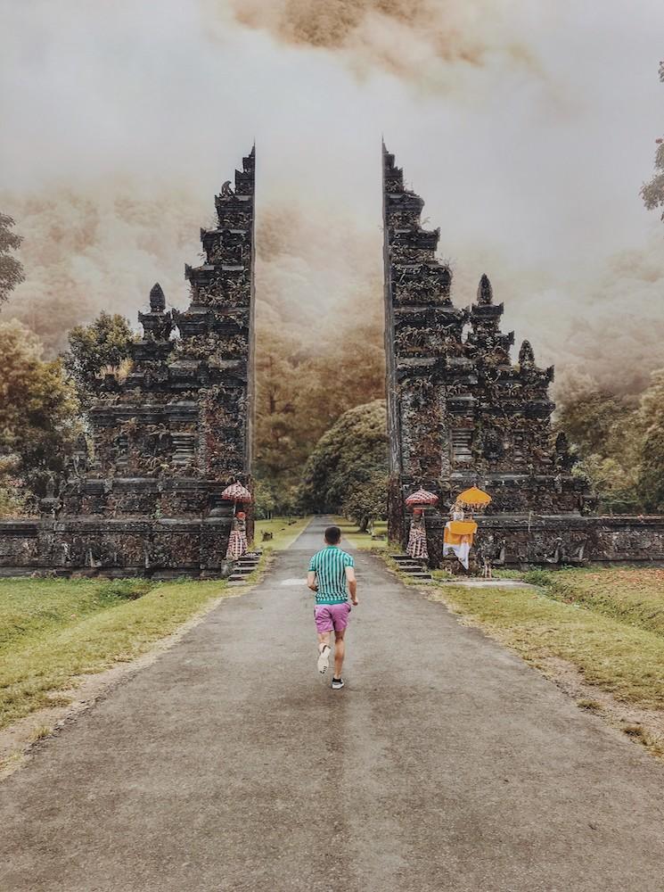 The Handara Golf & Resort Gates in Bali - Photo by Ian Chen on Scopio