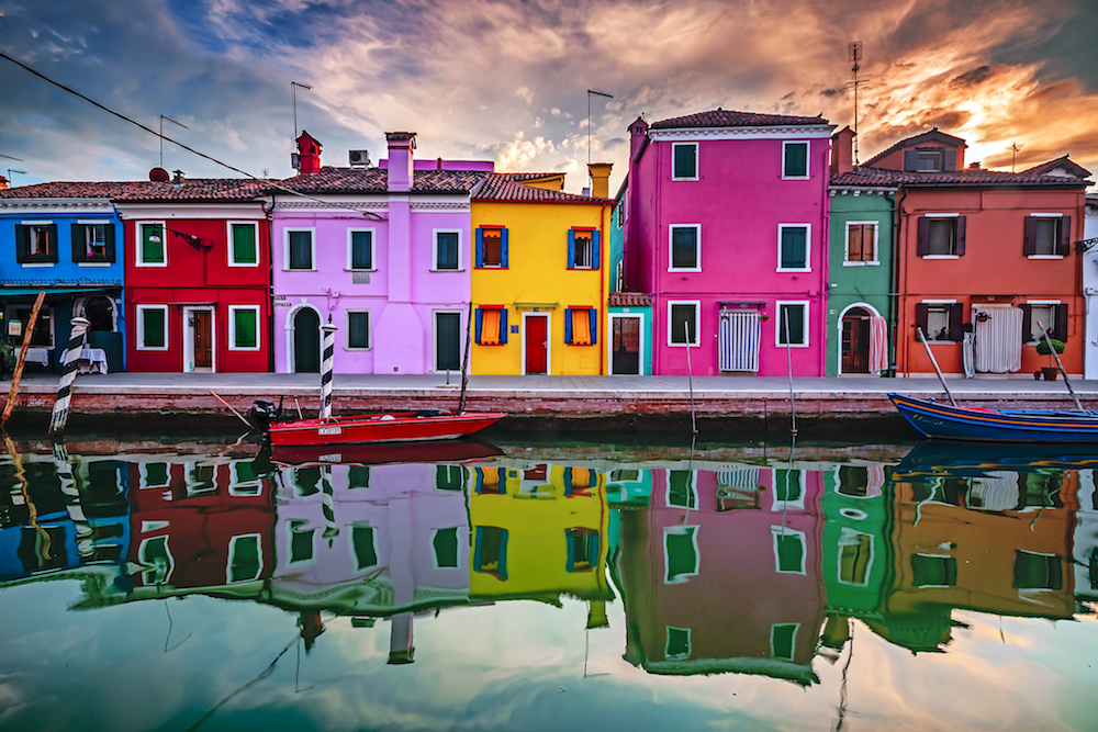 The colourful houses of Burano - Photo by Oren Cohen on Scopio