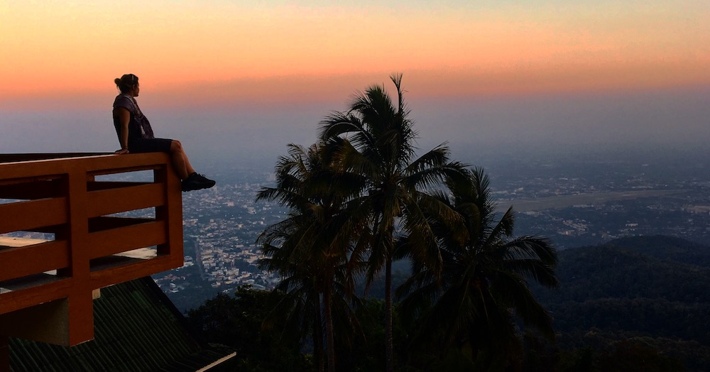 Sunset over Chiang Mai - Photo by Carina Fischer on Scopio