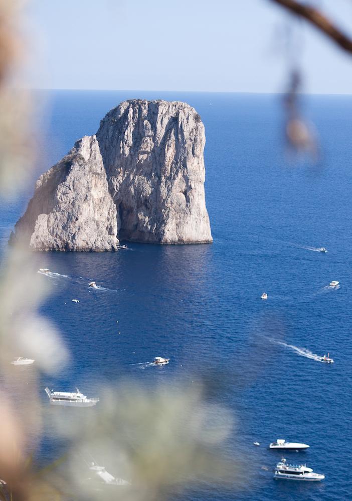 The famous Faraglioni of Capri - Photo by Evi Hellebaut on Scopio