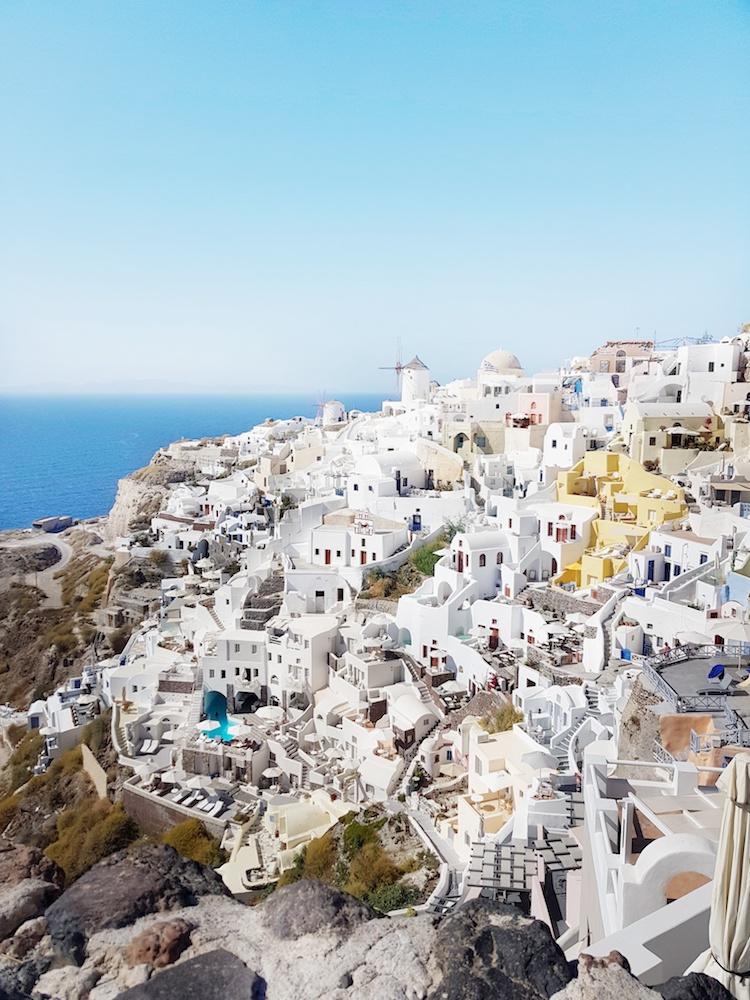 The famous white houses of Santorini, Greece - Photo by Marinella Maltese on Scopio