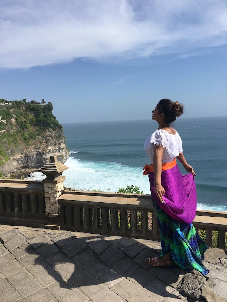 Exploring Uluwatu Temple in Bali - Photo by Ruthba Nitia on Scopio