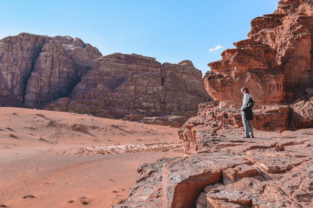 Exploring the Wadi Rum in Jordan