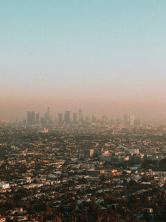 View over Los Angeles from Griffith Observatory - Photo by Khurum Khan on Scopio