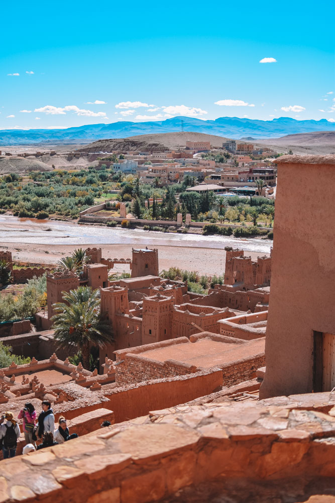 The cute streets and epic views in Ouarzazate and Aït Benhaddou