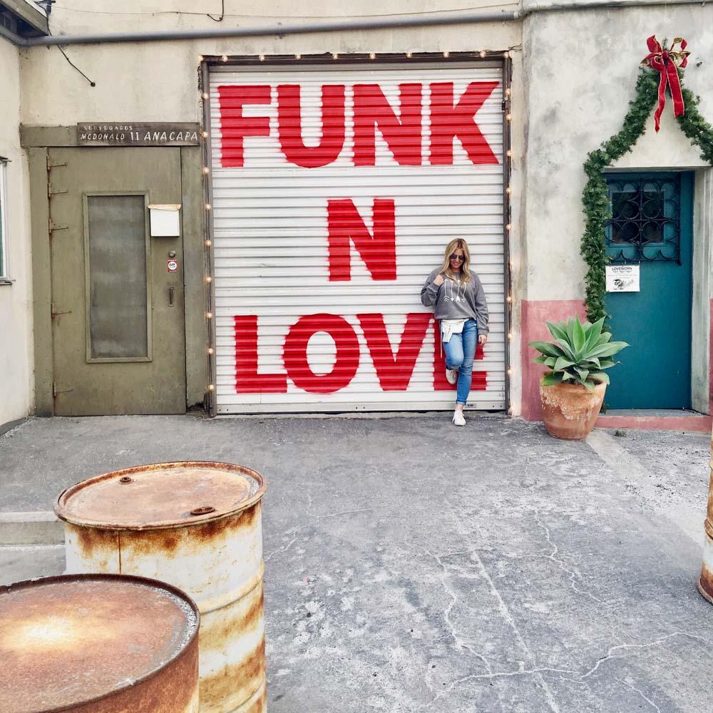 Funk Zone in Santa Barbara - photo by Passports and Preemies