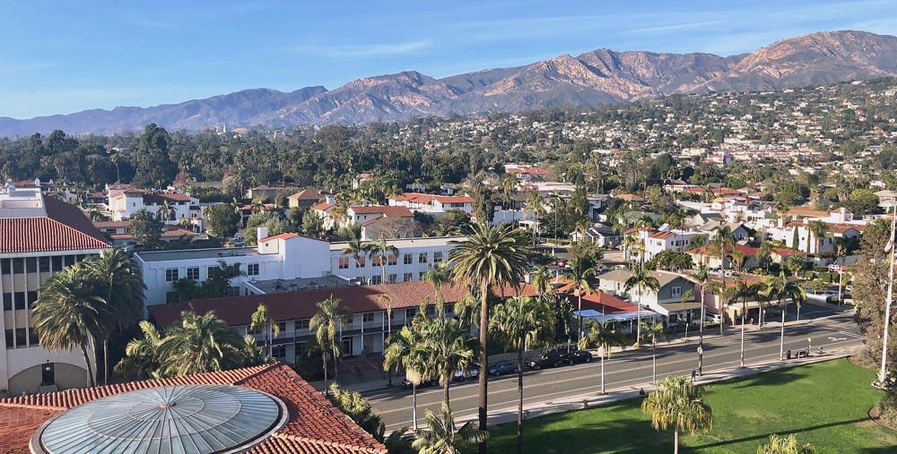 Santa Barbara views - photo by Passports and Preemies