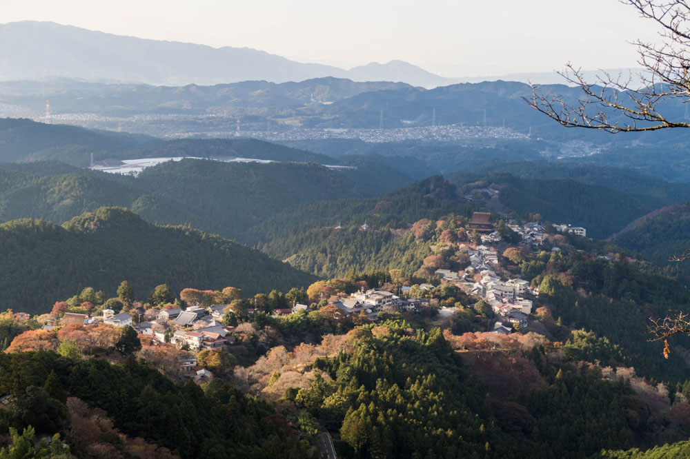 View over Yoshino - photo by German Backpacker