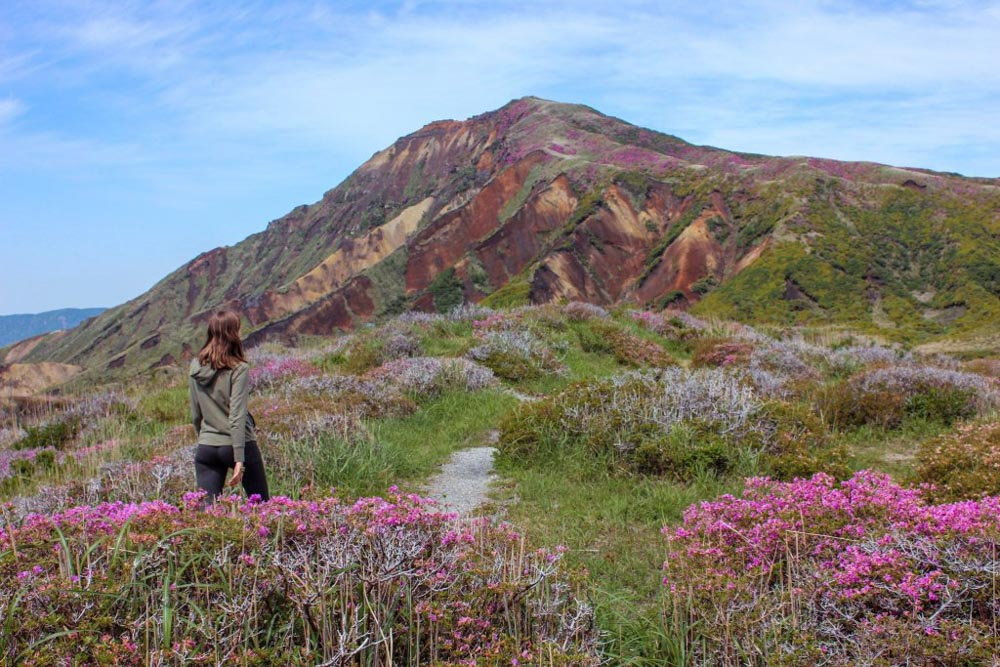Exploring Mount Aso Volcano in Kyushu - photo by Cassie The Hag