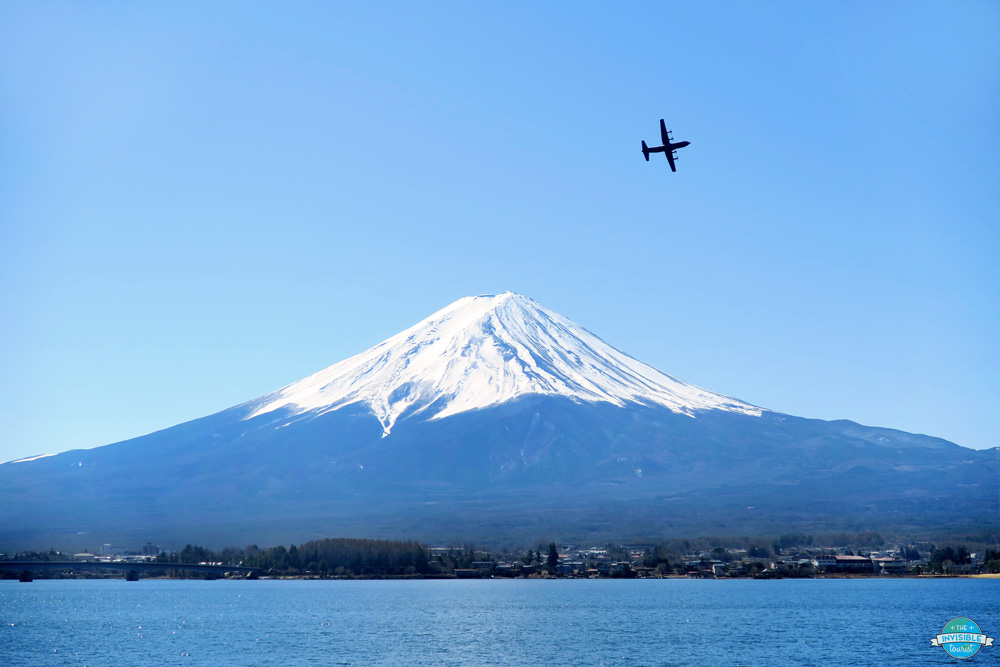 View of Mount Fuji Lake Kawaguchiko - photo by The Invisible Tourist