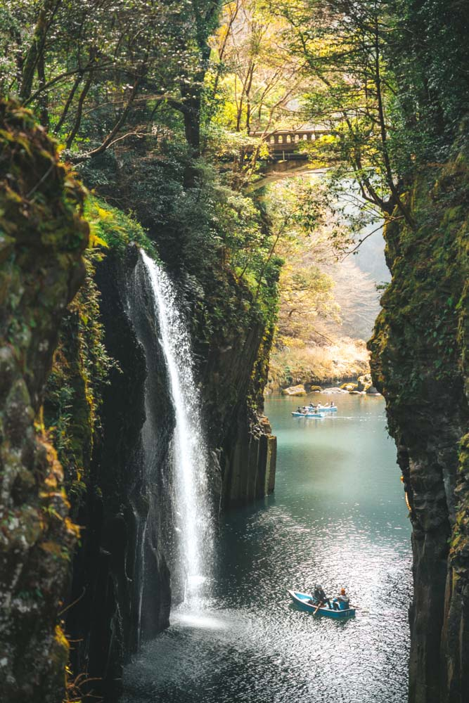 Takachiho Gorge in Kyushu - photo by Journey Era