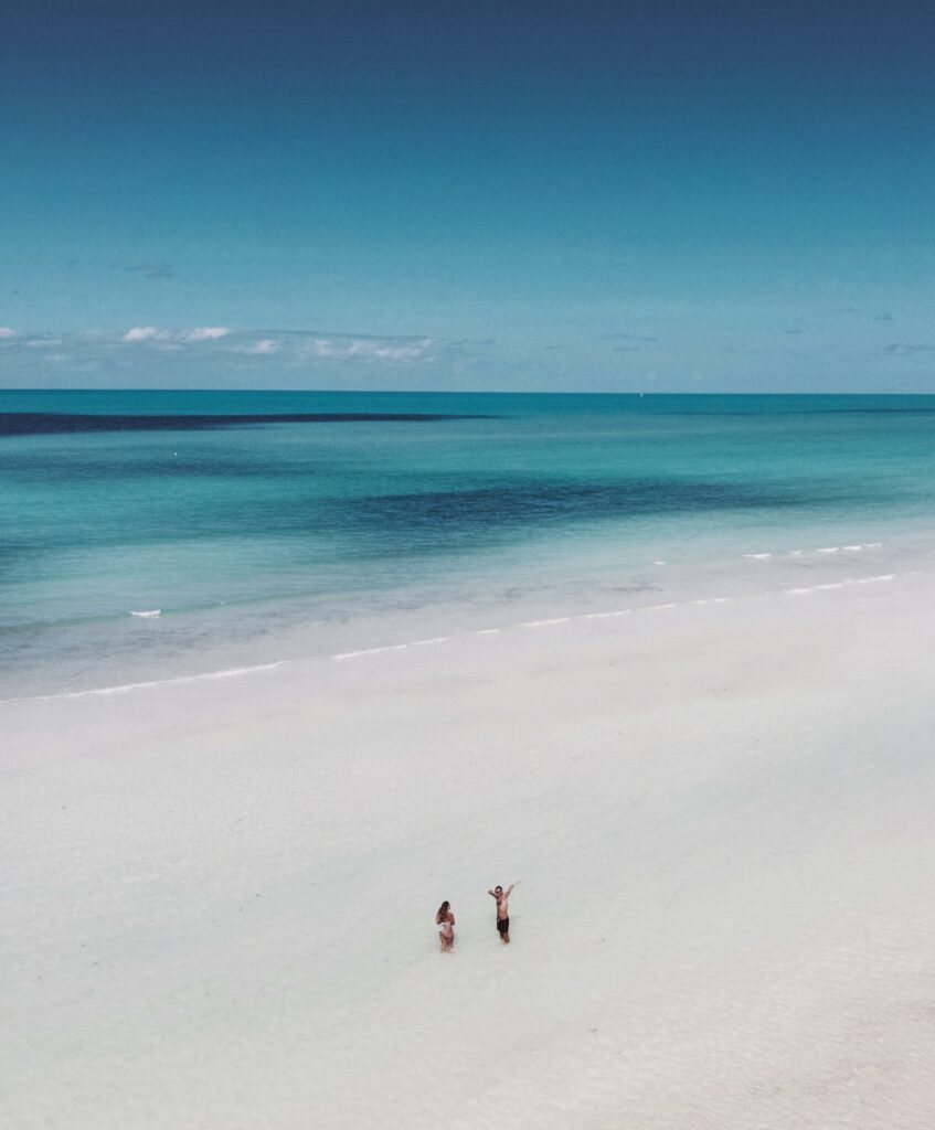 Drone shot of one of the beautiful beaches in Australia - Photo by Jessica May on Scopio