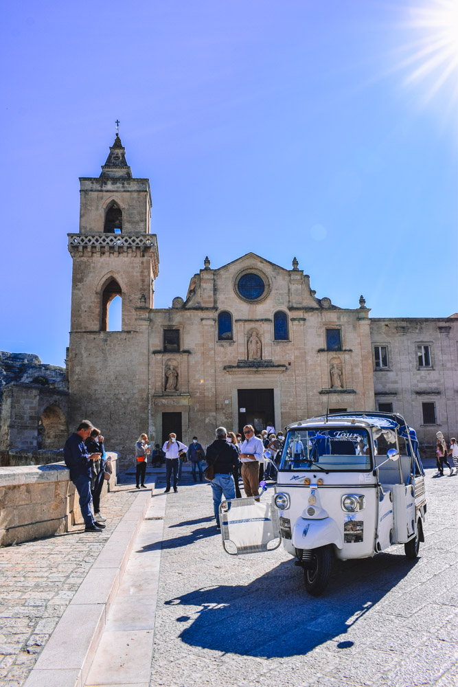 The Chiesa of San Pietro Caveoso in Matera