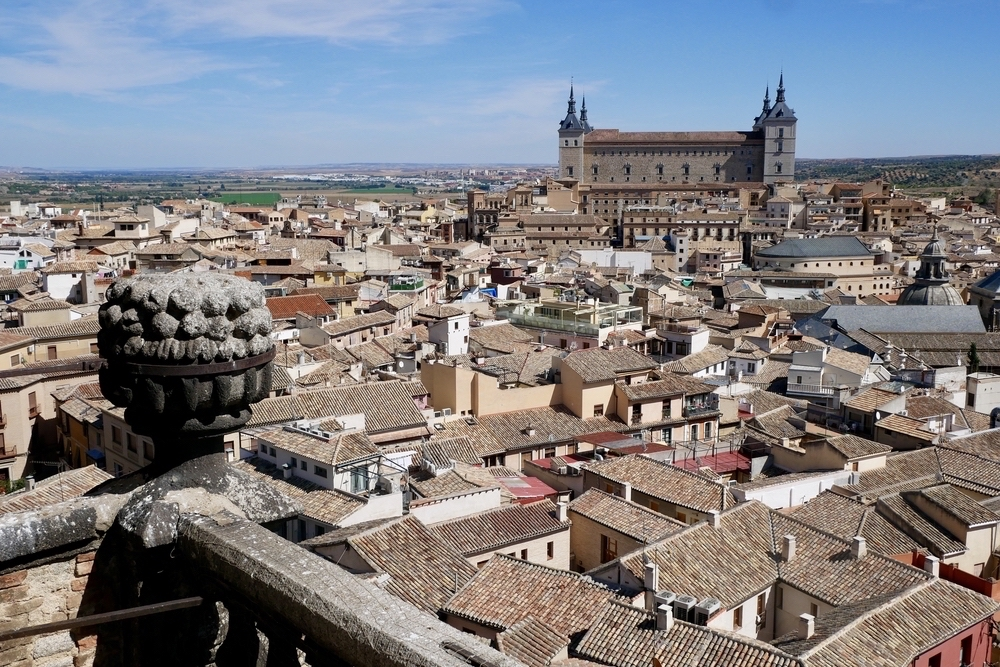 Gorgeous views over Toledo, Spain - photo by Erika's Travels