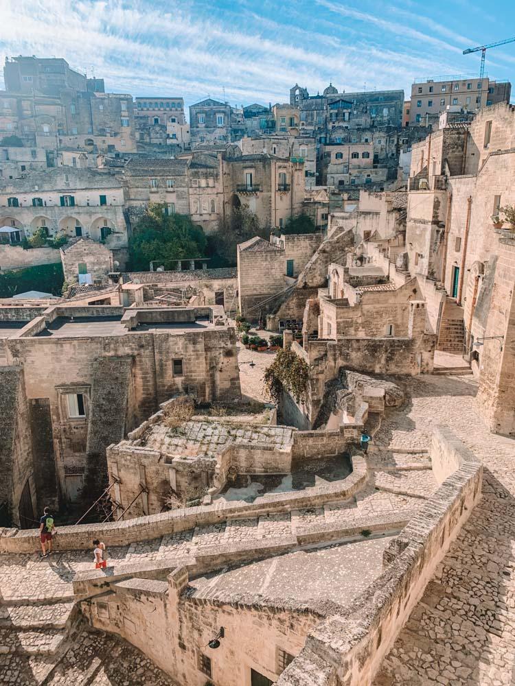 Exploring the Sassi of Matera