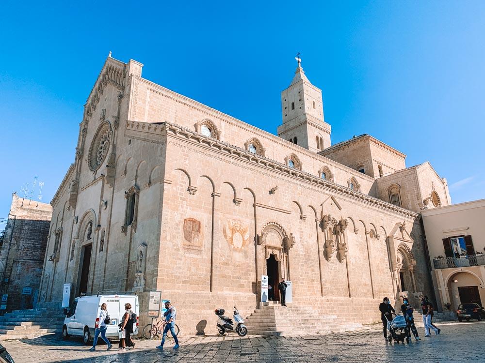 The Duomo of Matera