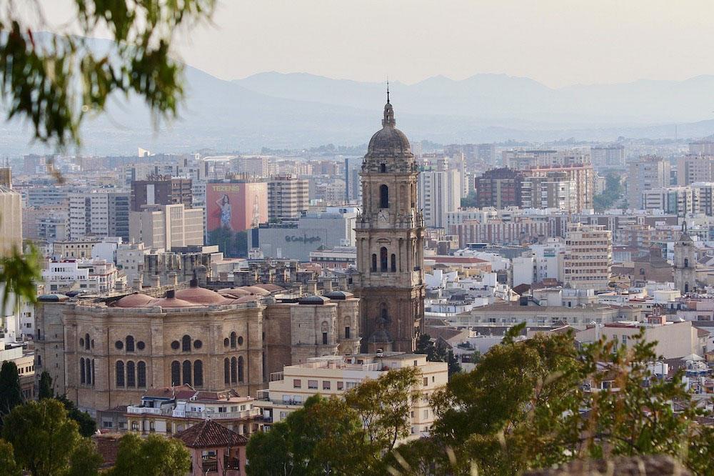 Lovely views over Malaga - photo by Barbara Iandolo from Pixabay