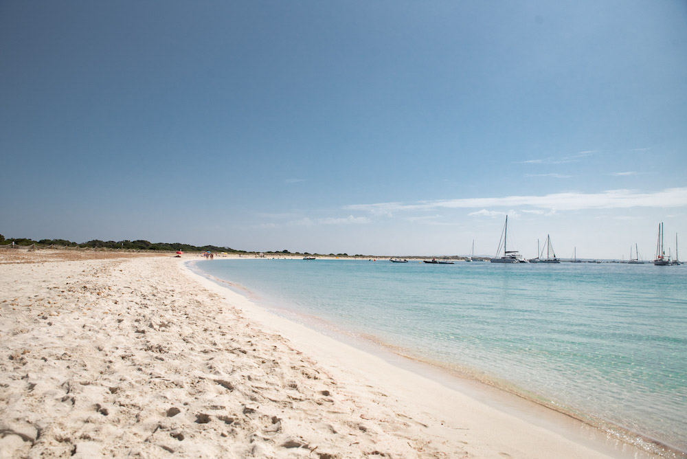 One of the beautiful beaches in S'Espalmador Island - photo by Le Long Weekend