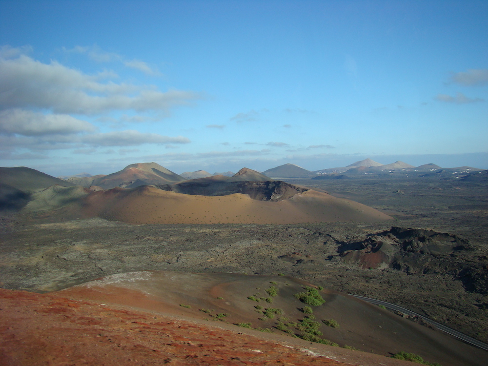 Timanfaya, the volcanic area of Lanzarote - photo by Where Angie Wanders