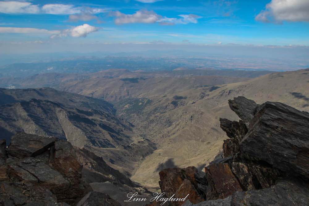 View from the top of Mulhacen - photo by Brainy Backpackers