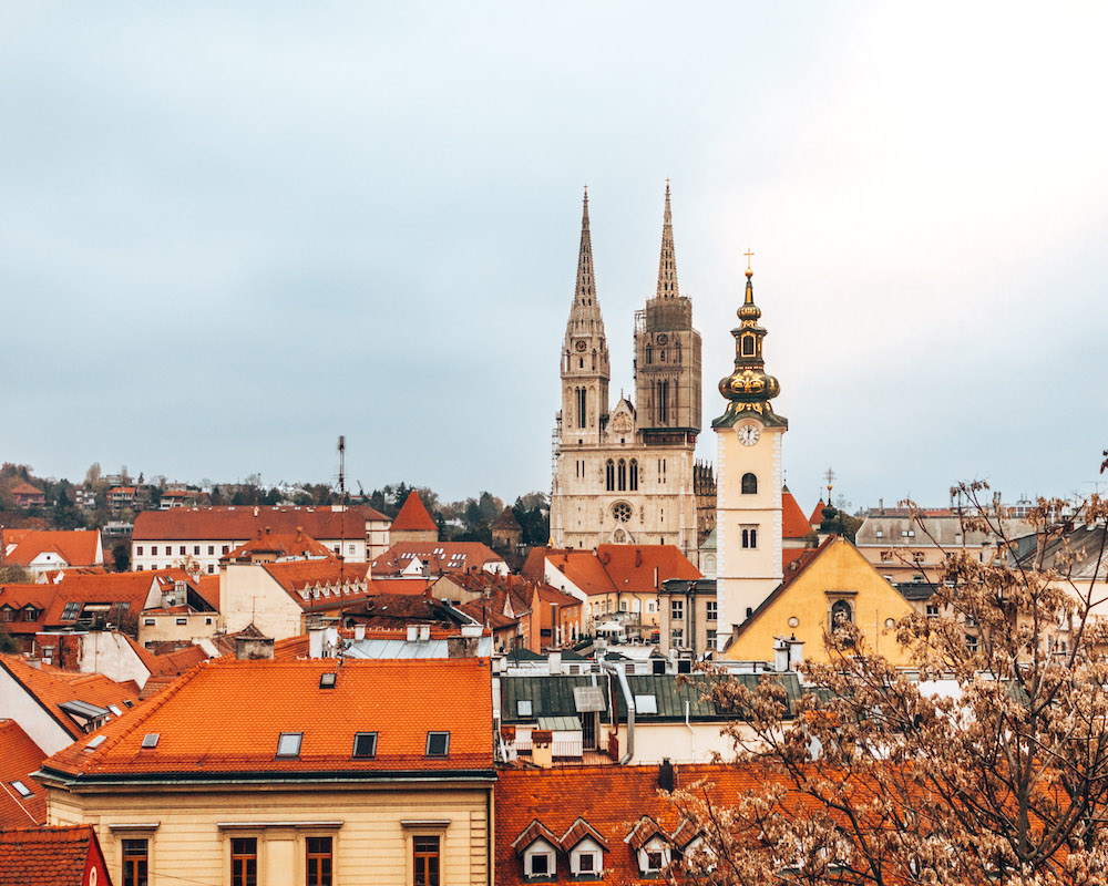 City views in Zagreb - photo by We Did It Our Way