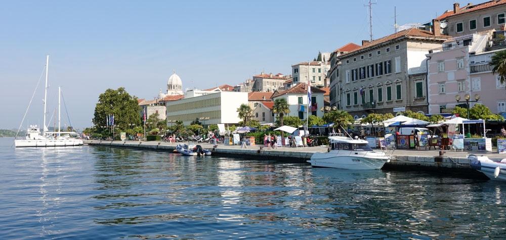 Sibenik Waterfront - photo by Avrex Travel