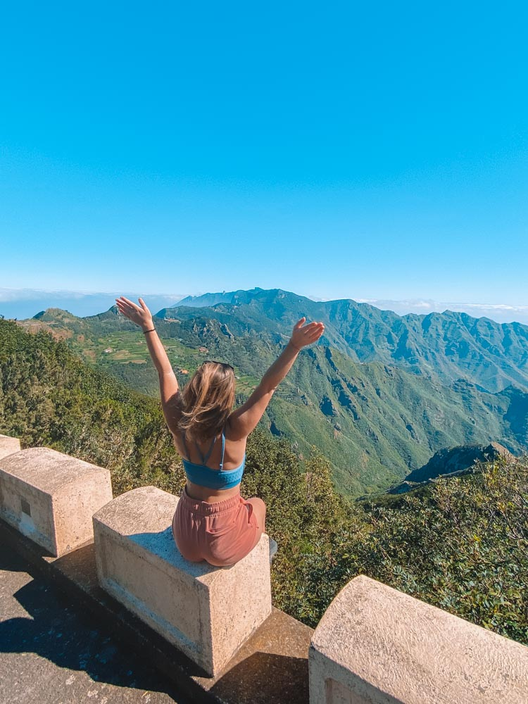 Exploring the beautiful landscapes of Tenerife