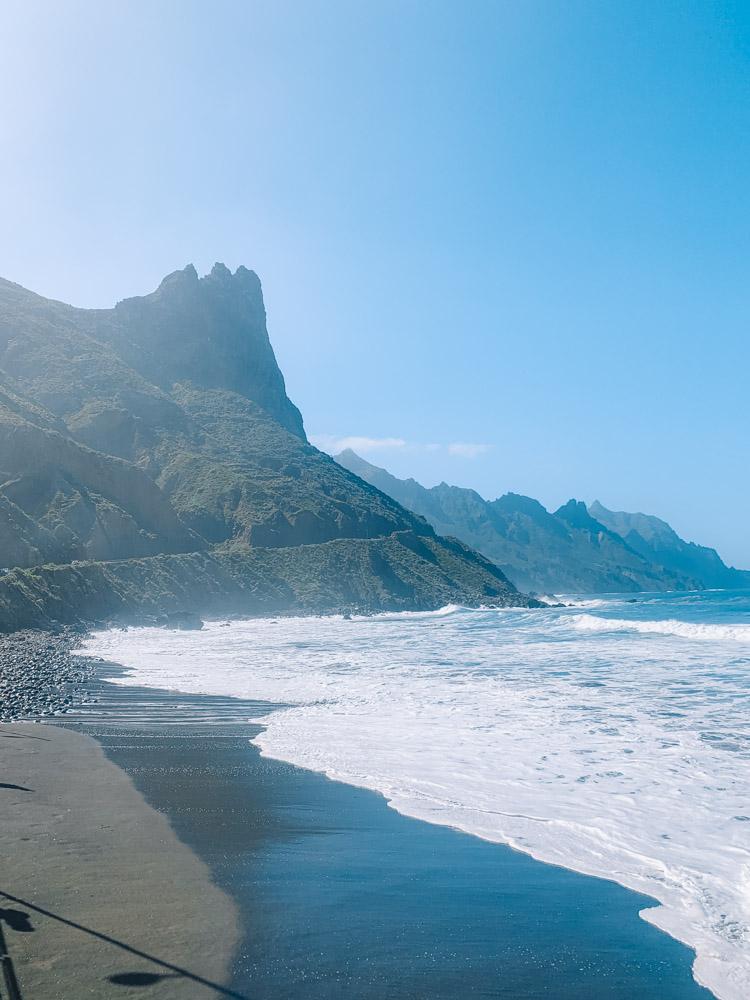 Exploring Playa de Benijo in Tenerife
